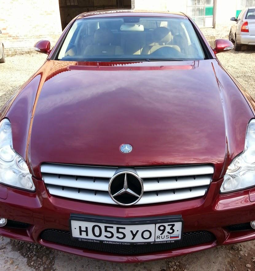 Mercedes 55 cls полировка в Краснодаре
